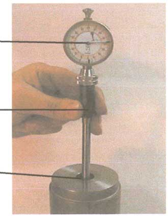 Dial bore gage